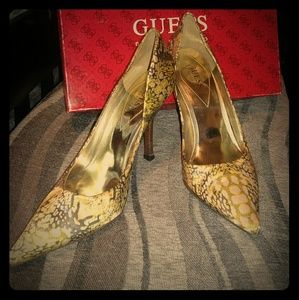 Guess by Marciano Satin Shoes